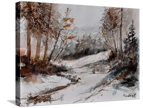 Watercolor 4256-Pol Ledent-Stretched Canvas Print