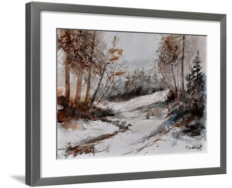 Watercolor 4256-Pol Ledent-Framed Art Print