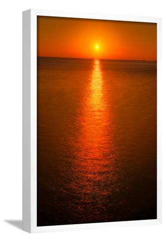 Waterfront Sunrise-Steve Gadomski-Framed Art Print
