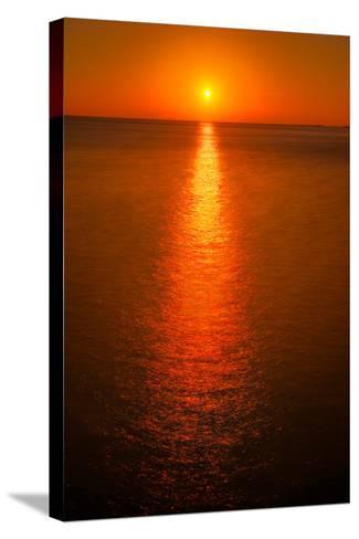 Waterfront Sunrise-Steve Gadomski-Stretched Canvas Print