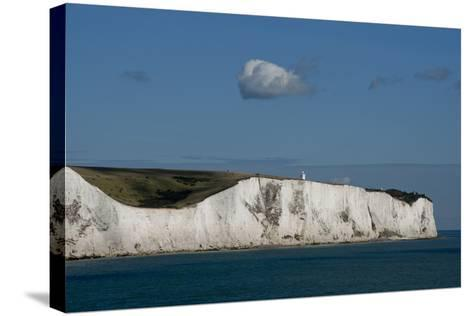 White Cliffs Of Dover England II-Charles Bowman-Stretched Canvas Print
