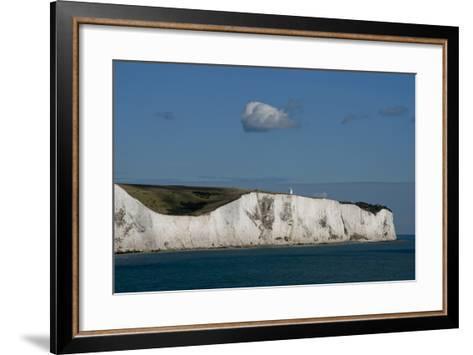 White Cliffs Of Dover England II-Charles Bowman-Framed Art Print