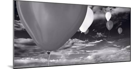 Balloon Launch BW-Steve Gadomski-Mounted Photographic Print