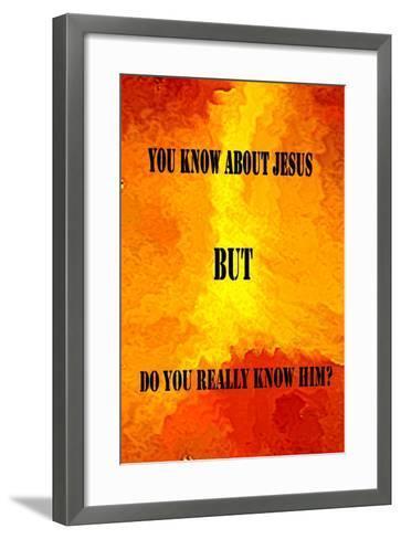 Jesus Poster-Ruth Palmer-Framed Art Print