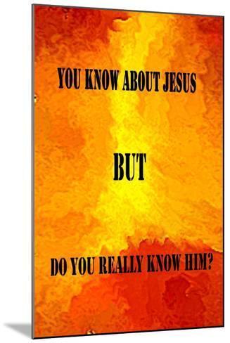 Jesus Poster-Ruth Palmer-Mounted Art Print
