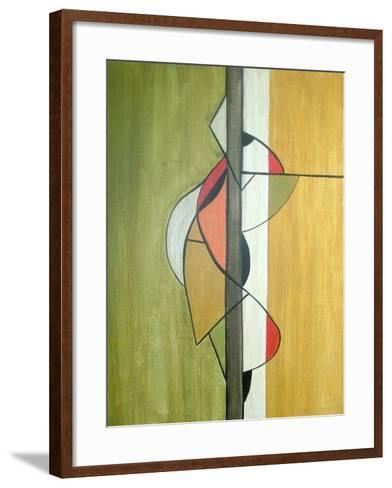 Meeting in the Middle-Ruth Palmer-Framed Art Print