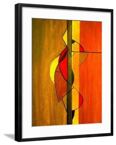 Meeting in the Middle II-Ruth Palmer-Framed Art Print