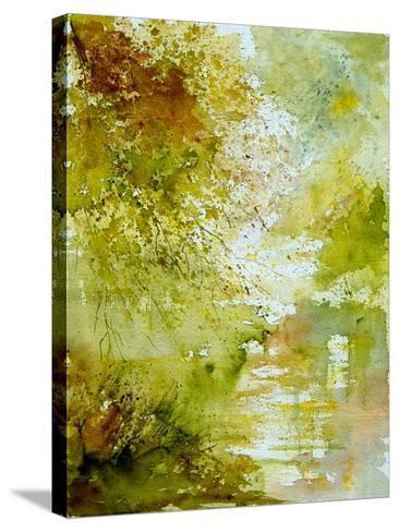 Watercolor - landscape - 211005-Pol Ledent-Stretched Canvas Print