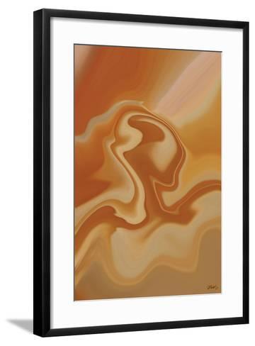 Lady in the Breeze-Rabi Khan-Framed Art Print