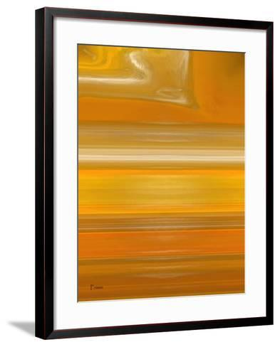 Orange Line-Kenny Primmer-Framed Art Print