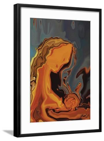 Madonna-Rabi Khan-Framed Art Print