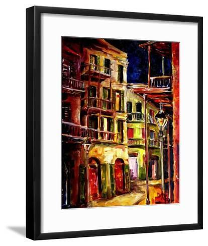 New Orleans Side Street-Diane Millsap-Framed Art Print