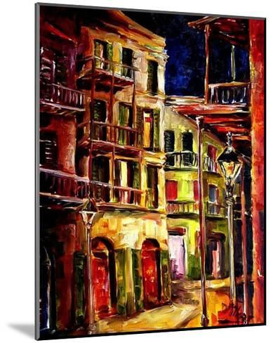 New Orleans Side Street-Diane Millsap-Mounted Art Print