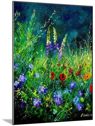 Wild flowers-Pol Ledent-Mounted Art Print
