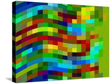 Winding Wall-Ruth Palmer-Stretched Canvas Print
