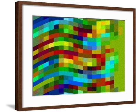 Winding Wall-Ruth Palmer-Framed Art Print
