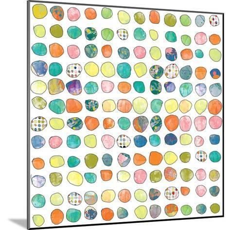 Dot world One-Jan Weiss-Mounted Art Print