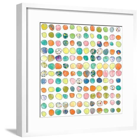Dot world One-Jan Weiss-Framed Art Print