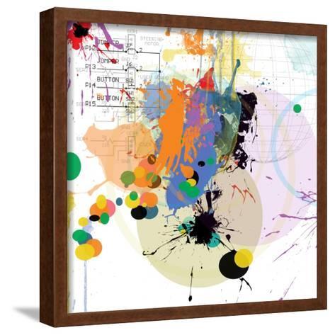 City Center 1-Jan Weiss-Framed Art Print