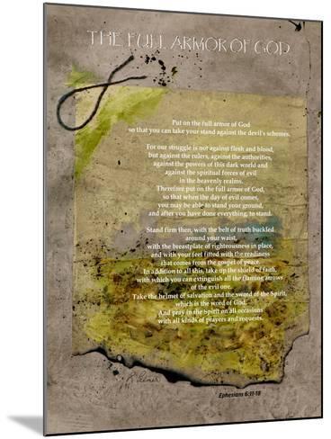 The Full Armor Of God-Ruth Palmer-Mounted Art Print