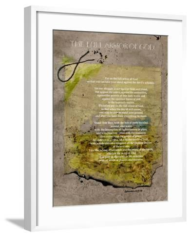 The Full Armor Of God-Ruth Palmer-Framed Art Print