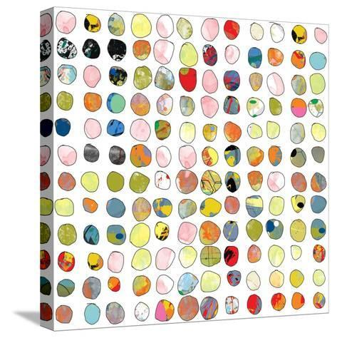Dot world Two-Jan Weiss-Stretched Canvas Print