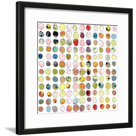 Dot world Two-Jan Weiss-Framed Art Print