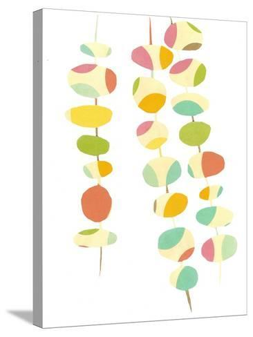 Falling Leaves Two-Jan Weiss-Stretched Canvas Print