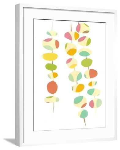 Falling Leaves Two-Jan Weiss-Framed Art Print