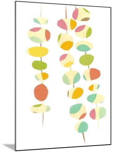 Falling Leaves Two-Jan Weiss-Mounted Art Print