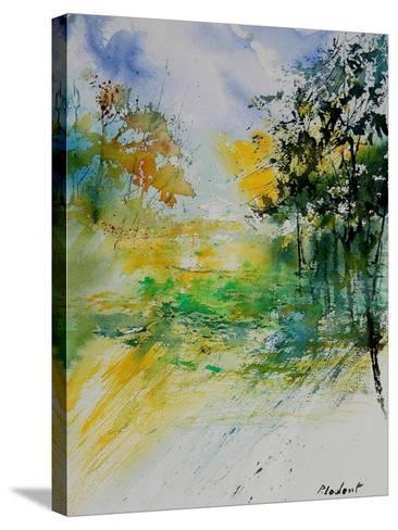 Watercolor 908051-Pol Ledent-Stretched Canvas Print