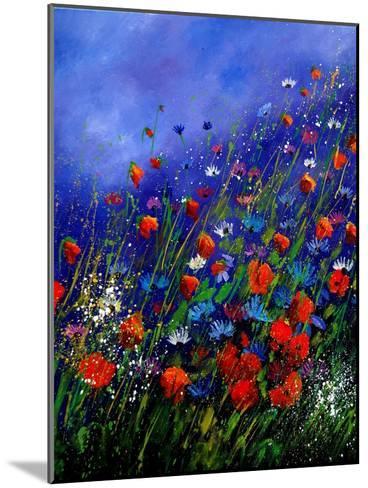 Wild Flowers 789070-Pol Ledent-Mounted Art Print