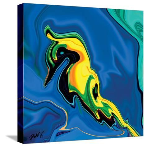 Soul Bird-Rabi Khan-Stretched Canvas Print