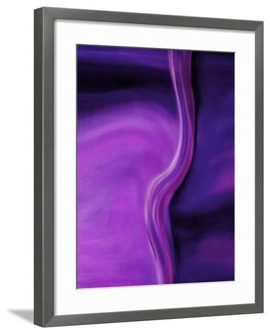 Shades of Purple II-Ruth Palmer 2-Framed Art Print