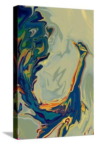 Peacock 2-Rabi Khan-Stretched Canvas Print