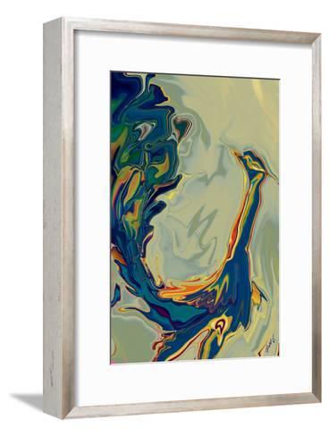Peacock 2-Rabi Khan-Framed Art Print