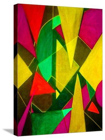 Teeming Triangles II-Ruth Palmer-Stretched Canvas Print