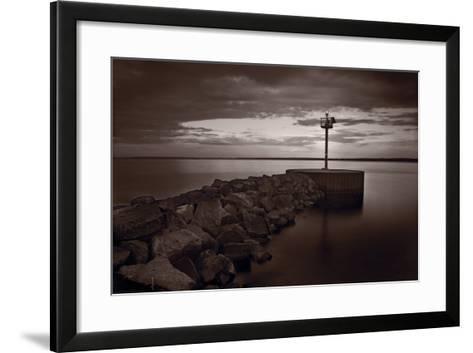 Harbor Light Bayfield Wisconsin-Steve Gadomski-Framed Art Print