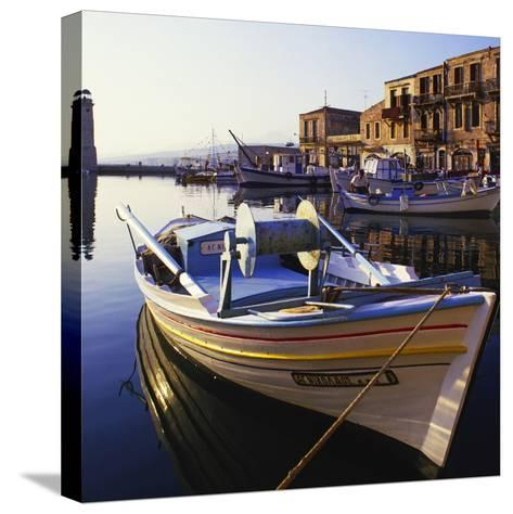 Rethymnon Greece-Charles Bowman-Stretched Canvas Print