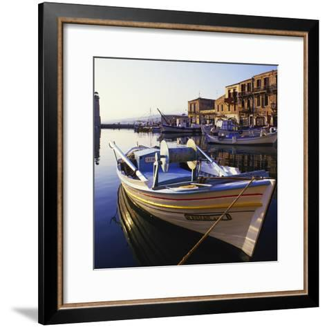 Rethymnon Greece-Charles Bowman-Framed Art Print