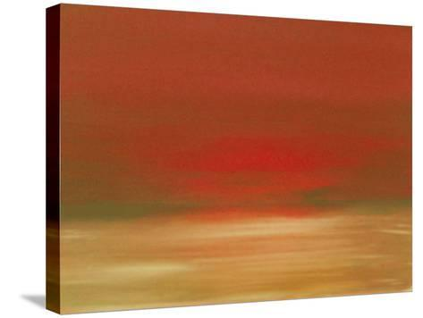 Red Sunset-Kenny Primmer-Stretched Canvas Print