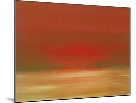 Red Sunset-Kenny Primmer-Mounted Art Print