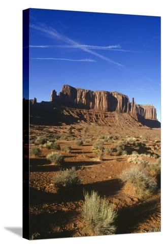 Monument Valley-Charles Bowman-Stretched Canvas Print