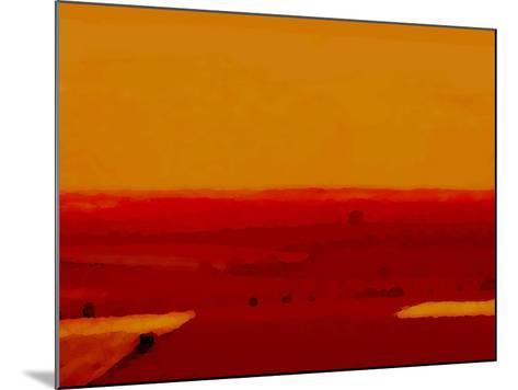 Red Land-Kenny Primmer-Mounted Art Print