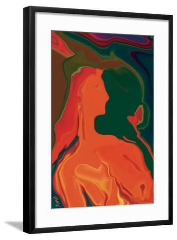 The Girl 4-Rabi Khan-Framed Art Print