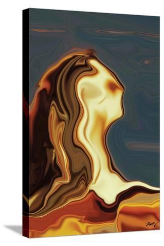 Waiting 3-Rabi Khan-Stretched Canvas Print