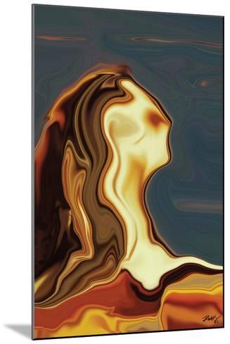 Waiting 3-Rabi Khan-Mounted Art Print