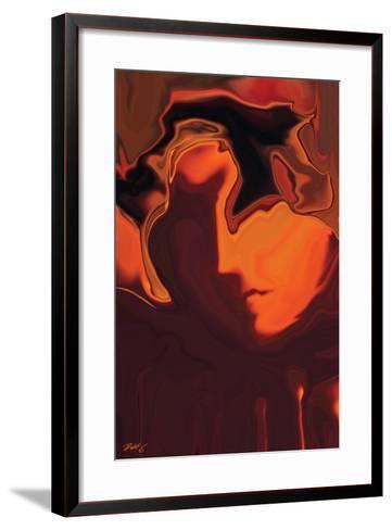 The Face-Rabi Khan-Framed Art Print