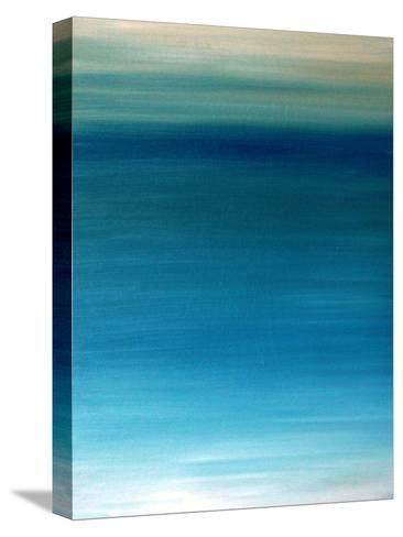 Ocean blue-Kenny Primmer-Stretched Canvas Print