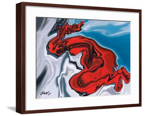 Touch Life-Rabi Khan-Framed Art Print